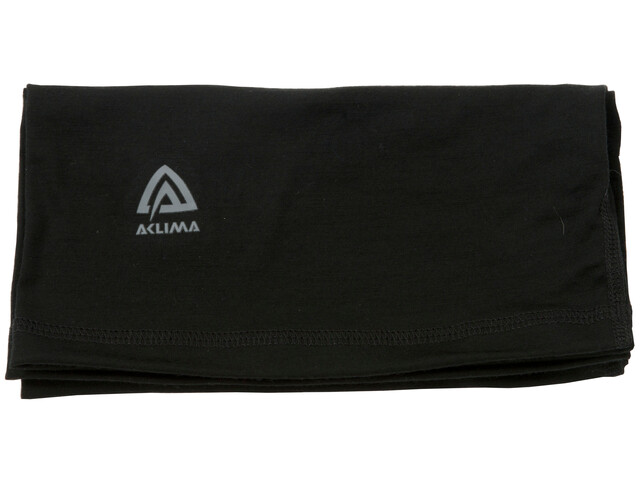 Aclima Lightwool Headover Jet Black